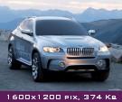 Обои BMW X6 Concept