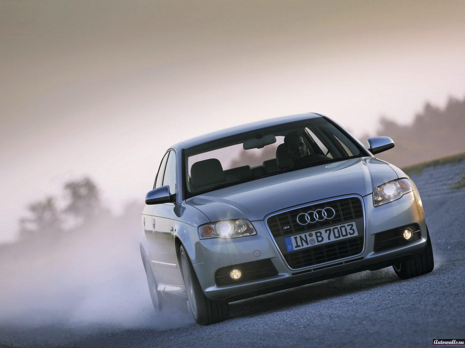 Скачать обои Audi S4 (Скорость, Шлейф, Audi S4, Ауди S4) для рабочего
