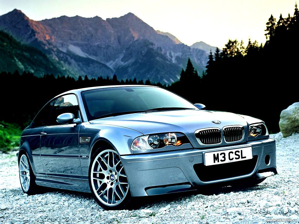 Фото BMW M3 CSL.