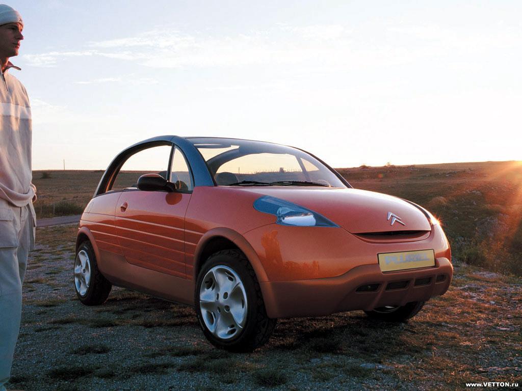 Модель авто Citroen Pluriel была…