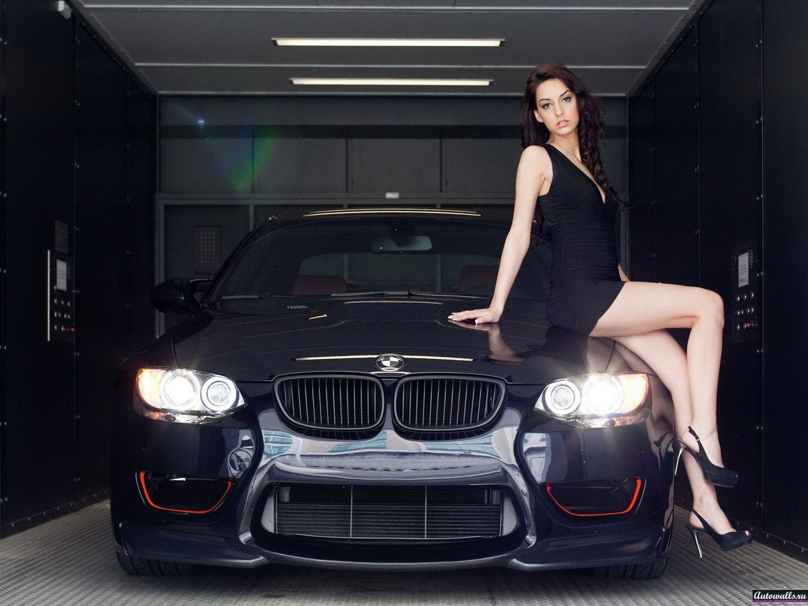 Девушки любят BMW (40 фото) .