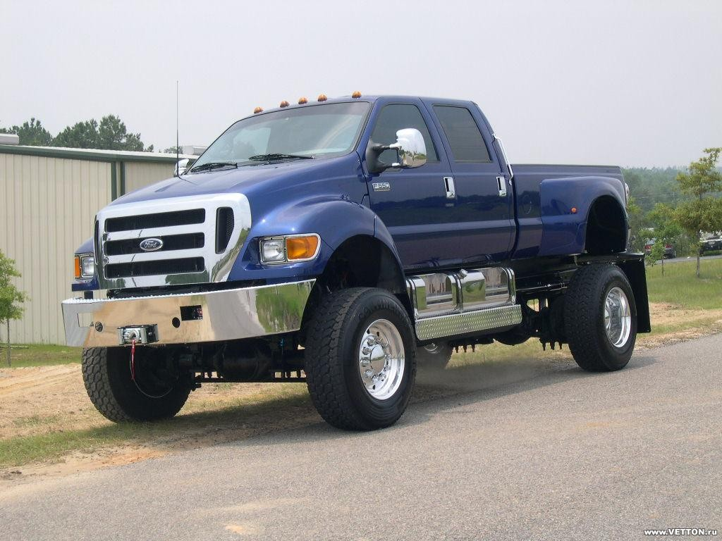 Ford F650 - Гигант Среди «Ле…