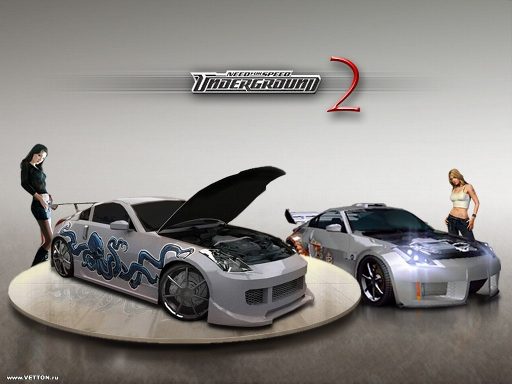 NFS Undergraund 2 Видео Игры Need For Speed Underground 2.