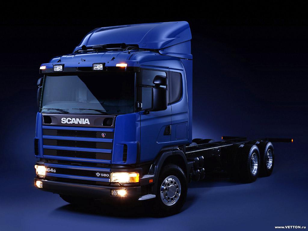 Модель Scania 4-series представлена гр…