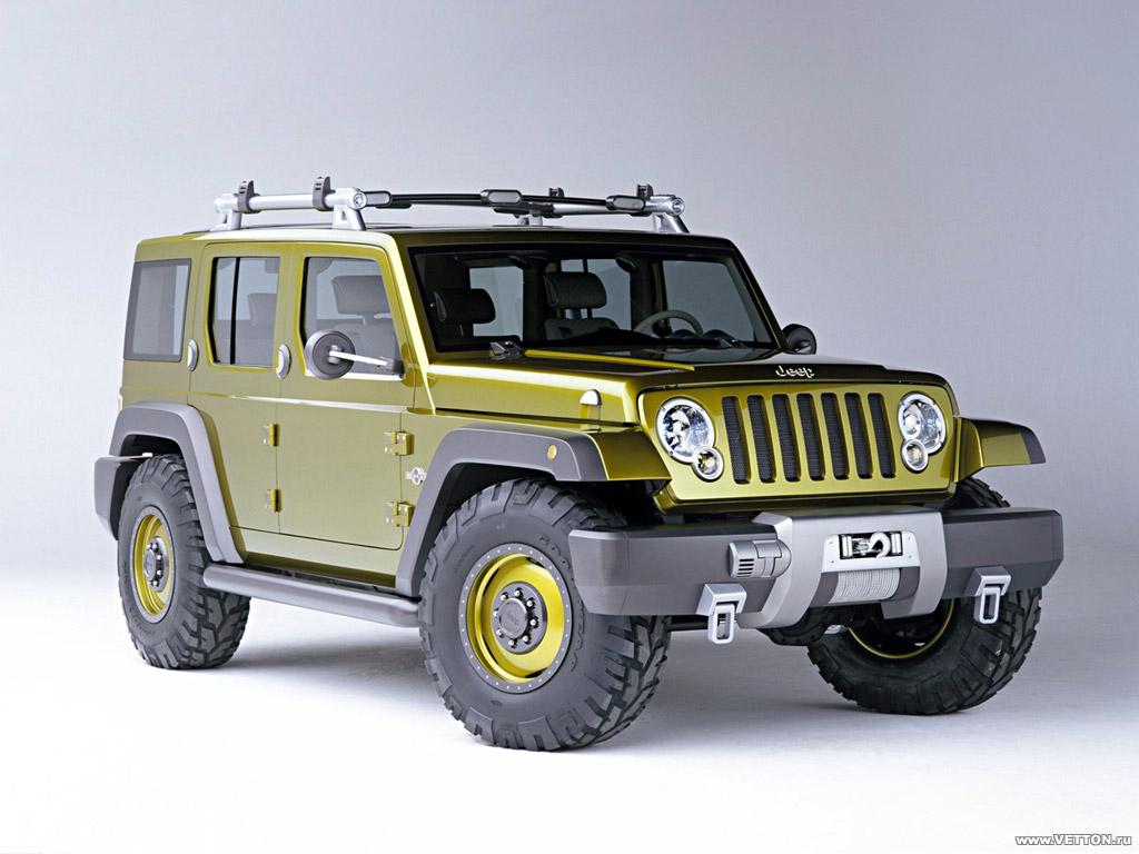 Jeep Rescue Concept фото.