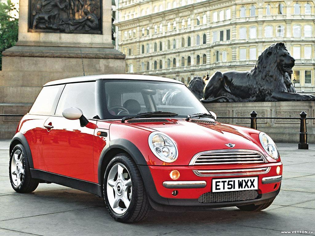 Модель авто Mini Cooper была выпущена одноименным концерном. Фото