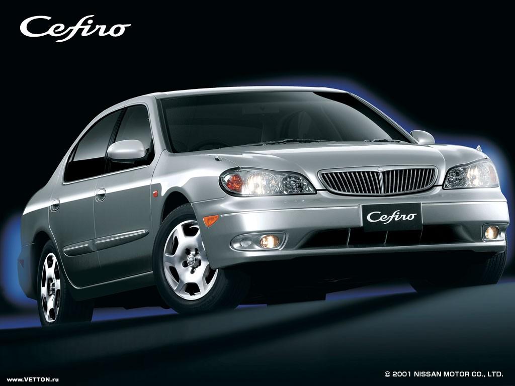 Nissan Cefiro седан.