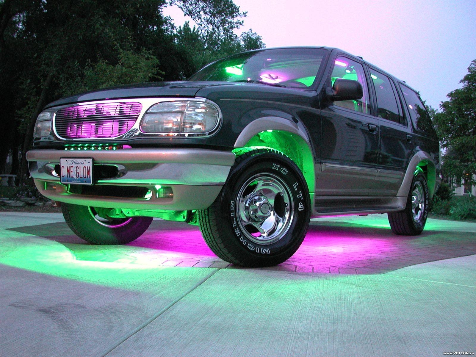Обои красава, форд, тюнинг. Автомобили foto 10