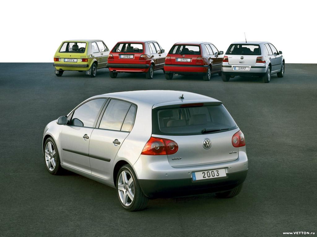 Скачать Volkswagen, Golf, авто, маши…