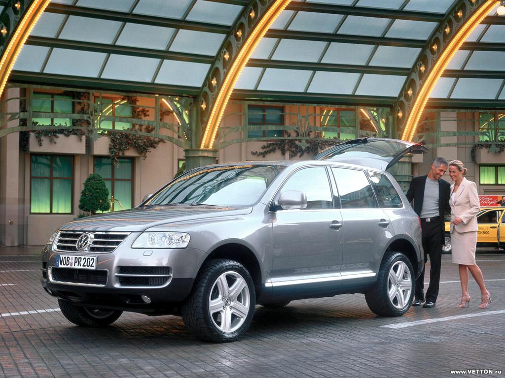 VW Touareg V10 TDi (10 фото.