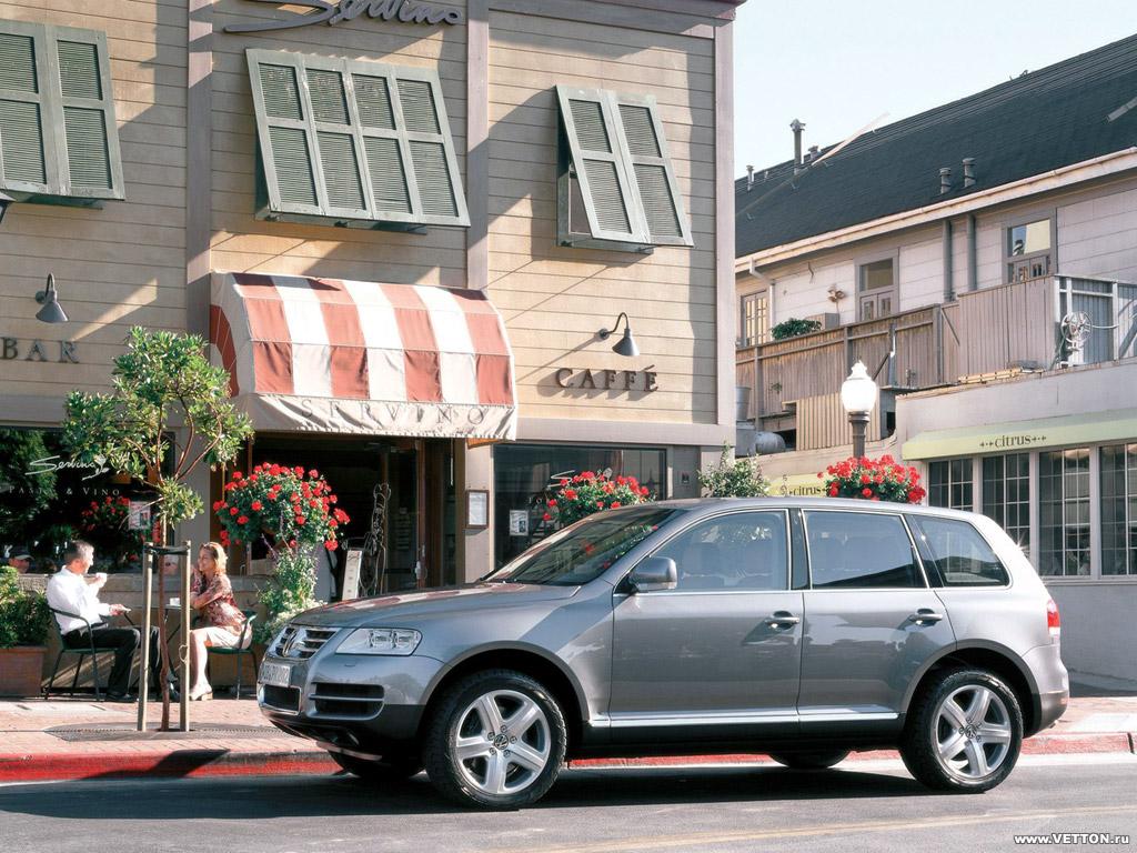 Volkswagen Touareg 2003 фото…