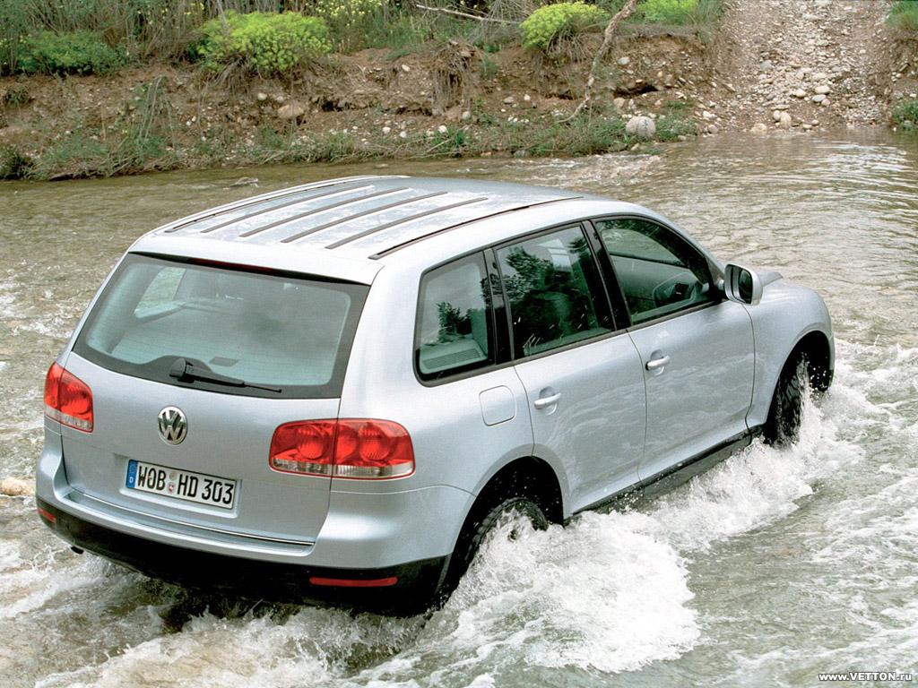 Фото Volkswagen Touareg.